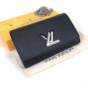 Louis Vuitton Wallet Twist Black